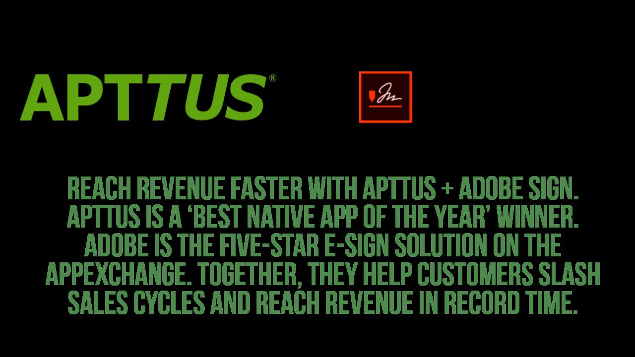 Apttus CPQ and CLM
